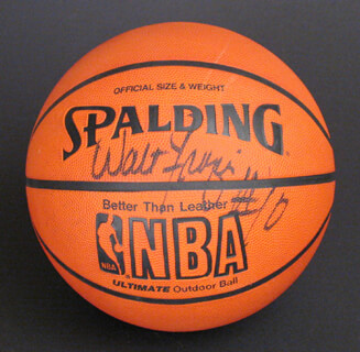 WALT CLYDE FRAZIER - BASKETBALL SIGNED