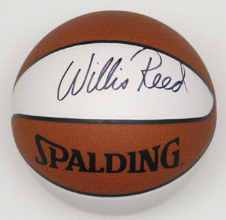WILLIS REED - BASKETBALL SIGNED