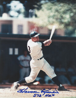HARMON KILLEBREW - AUTOGRAPHED SIGNED PHOTOGRAPH