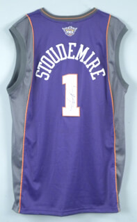 AMAR'E STOUDEMIRE - JERSEY SIGNED