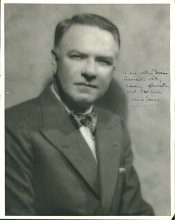 W. C. FIELDS - AUTOGRAPHED INSCRIBED PHOTOGRAPH