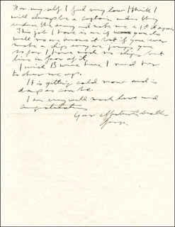 GENERAL GEORGE S. PATTON JR. - AUTOGRAPH LETTER SIGNED 10/08/1917
