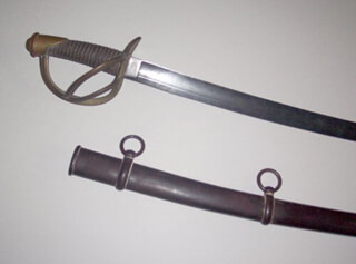 CIVIL WAR - UNION - SWORD UNSIGNED