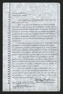 GEORGE GERSHWIN - DOCUMENT SIGNED 09/30/1936 CO-SIGNED BY: IRA GERSHWIN