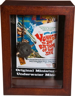 VOYAGE TO THE BOTTOM OF THE SEA MOVIE CAST - EPHEMERA UNSIGNED