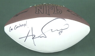 ANTHONY SEYMORE FASANO - FOOTBALL SIGNED