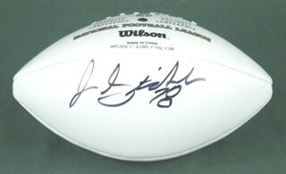JON STINCHCOMB - FOOTBALL SIGNED