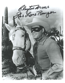 JAY TONTO SILVERHEELS - COLLECTION WITH CLAYTON THE LONE RANGER MOORE