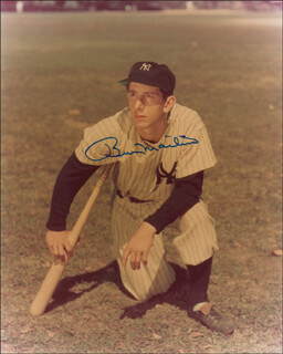 BILLY MARTIN - AUTOGRAPHED SIGNED PHOTOGRAPH