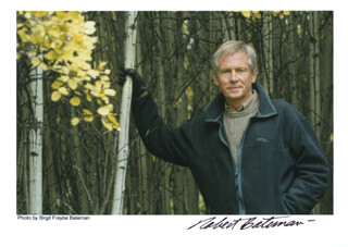 Autographs: ROBERT BATEMAN - PHOTOGRAPH SIGNED