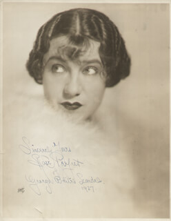ROSE PERFECT - AUTOGRAPHED SIGNED PHOTOGRAPH 1927