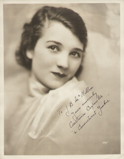 CONSTANCE CARPENTER - AUTOGRAPHED INSCRIBED PHOTOGRAPH