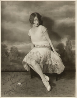 BARBARA NEWBERRY - AUTOGRAPHED INSCRIBED PHOTOGRAPH 1928