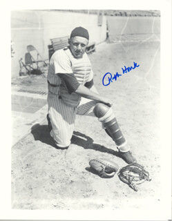 RALPH HOUK - AUTOGRAPHED SIGNED PHOTOGRAPH