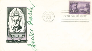 Autographs: JAMES A. FARLEY - FIRST DAY COVER SIGNED