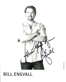 BILL ENGVALL - AUTOGRAPHED SIGNED PHOTOGRAPH