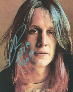 TODD RUNDGREN - AUTOGRAPHED SIGNED PHOTOGRAPH 2010