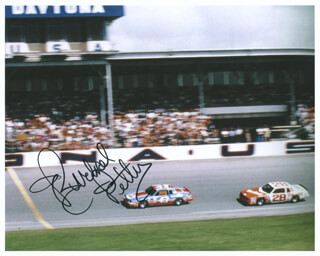 RICHARD PETTY - AUTOGRAPHED SIGNED PHOTOGRAPH