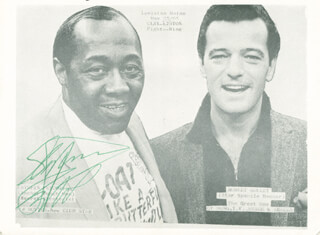 STEPIN FETCHIT - PRINTED PHOTOGRAPH SIGNED IN INK