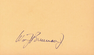 ASSOCIATE JUSTICE WILLIAM J. BRENNAN JR. - AUTOGRAPH