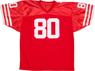 JERRY RICE - JERSEY SIGNED