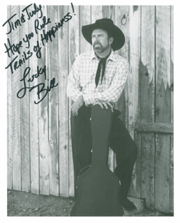 WILLIAM LUCKY BILL PARRISH - AUTOGRAPHED INSCRIBED PHOTOGRAPH