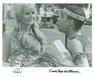 VALERIE PERRINE - PRINTED PHOTOGRAPH SIGNED IN INK