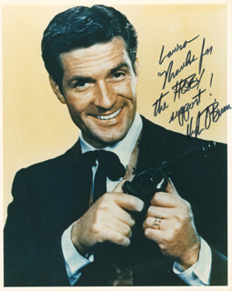 HUGH O'BRIAN - AUTOGRAPHED INSCRIBED PHOTOGRAPH