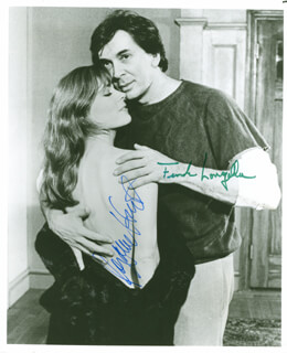 PASSION PLAY CAST - AUTOGRAPHED SIGNED PHOTOGRAPH CO-SIGNED BY: FRANK LANGELLA, ROXANNE HART