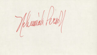 NEHEMIAH PERSOFF - AUTOGRAPH