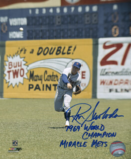 RON ROCKY SWOBODA - AUTOGRAPHED SIGNED PHOTOGRAPH