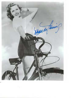 RHONDA FLEMING - AUTOGRAPHED SIGNED PHOTOGRAPH