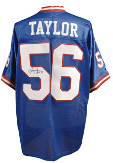 Autographs: LAWRENCE TAYLOR - JERSEY SIGNED