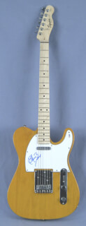 CHUCK BERRY - GUITAR SIGNED