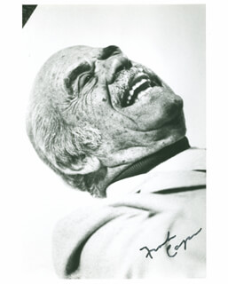 FRANK CAPRA - AUTOGRAPHED SIGNED PHOTOGRAPH