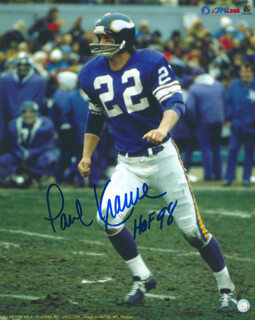 PAUL KRAUSE - AUTOGRAPHED SIGNED PHOTOGRAPH