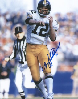 Autographs: TERRY BRADSHAW - PHOTOGRAPH SIGNED
