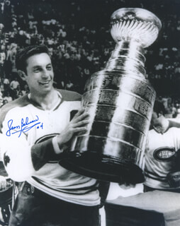 JEAN BELIVEAU - AUTOGRAPHED INSCRIBED PHOTOGRAPH