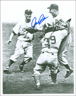 JOHNNY PODRES - AUTOGRAPHED SIGNED PHOTOGRAPH