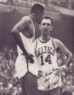 BOB COUSY - AUTOGRAPHED INSCRIBED PHOTOGRAPH