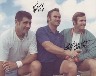 DON SHULA - AUTOGRAPHED SIGNED PHOTOGRAPH CO-SIGNED BY: BOB GRIESE