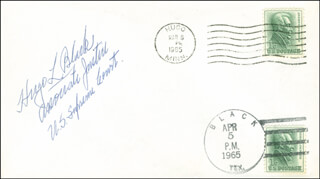 ASSOCIATE JUSTICE HUGO L. BLACK - ENVELOPE SIGNED