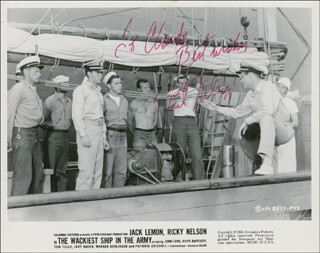 RICK NELSON - AUTOGRAPHED INSCRIBED PHOTOGRAPH