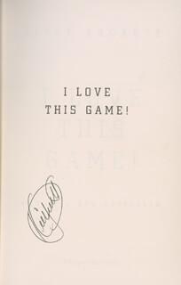 KIRBY PUCKETT - BOOK SIGNED