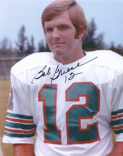 BOB GRIESE - AUTOGRAPHED SIGNED PHOTOGRAPH