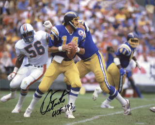 DAN FOUTS - AUTOGRAPHED SIGNED PHOTOGRAPH