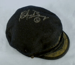 Autographs: CHUCK BERRY - HAT SIGNED
