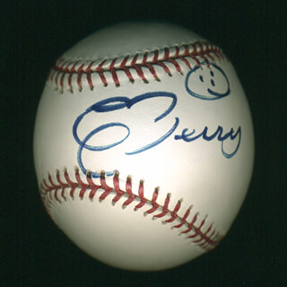 CHUCK BERRY - AUTOGRAPHED SIGNED BASEBALL