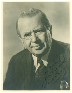 CHARLES D. COBURN - AUTOGRAPHED INSCRIBED PHOTOGRAPH