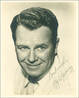 REGIS TOOMEY - AUTOGRAPHED SIGNED PHOTOGRAPH